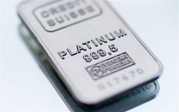 Платината е най-стойностният благороден метал...